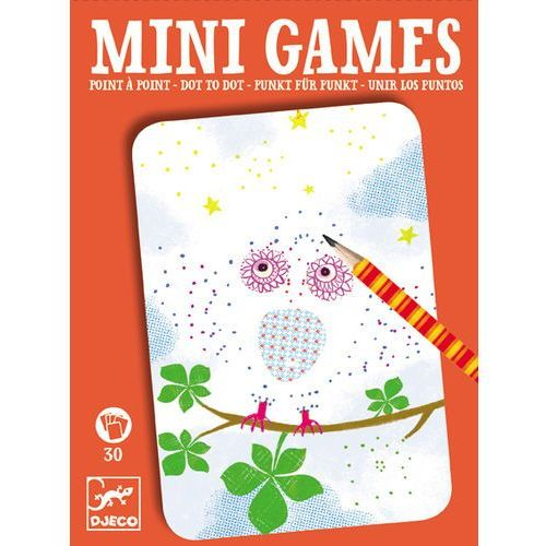 Mini Games gra podróżna Djeco - Kropka w kropkę Eliza DJ05336 (3070900053366)