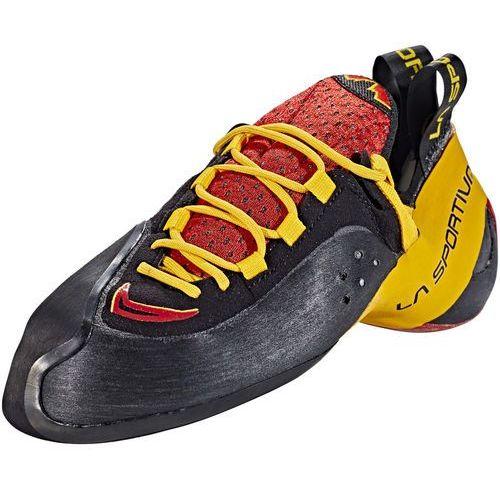 La sportiva genius but wspinaczkowy czerwony/czarny 44 2019 buty wspinaczkowe sznurowane (8020647463589)