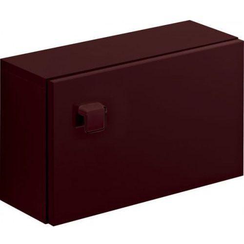 CERSANIT szafka wisząca Nano brązowa S542-002, kolor brązowy