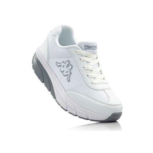Buty sportowe Kappa bonprix biało-szary