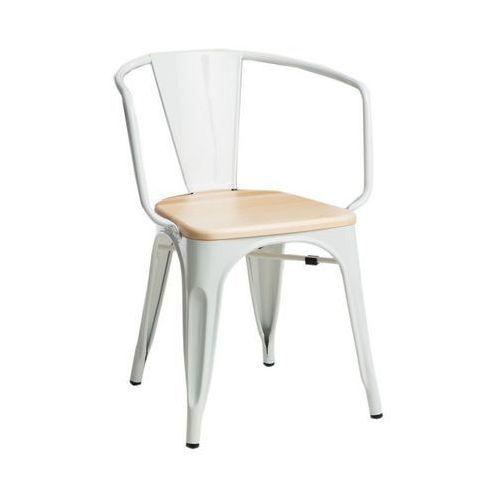 D2 Krzesło paris arms wood jesion insp. tolix
