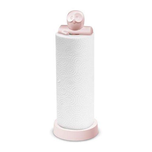 Stojak na ręczniki papierowe Elli pastelowy róż, 5227486