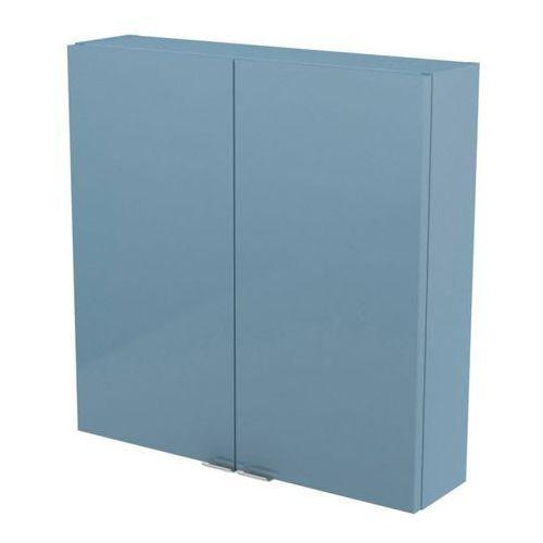 Goodhome Szafka imandra 60 x 60 x 15 cm niebieska
