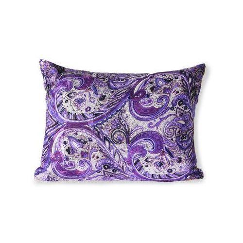 Hkliving poduszka z fioletowym nadrukiem (30x40) tku2120 (8718921037778)