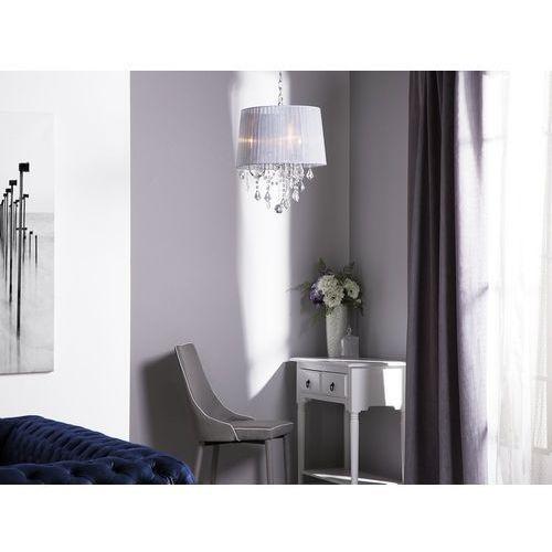 Lampa wisząca biała evans marki Beliani