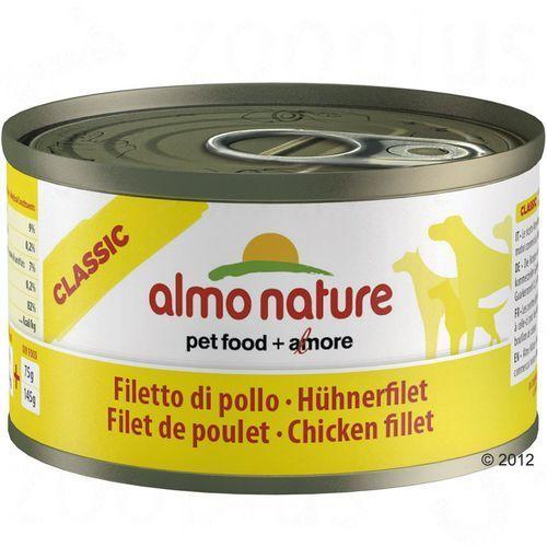 Almo nature  classic dog beef (wołowina) - puszka 6x95g