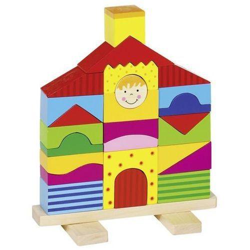 Domek do układania na palikach marki Goki