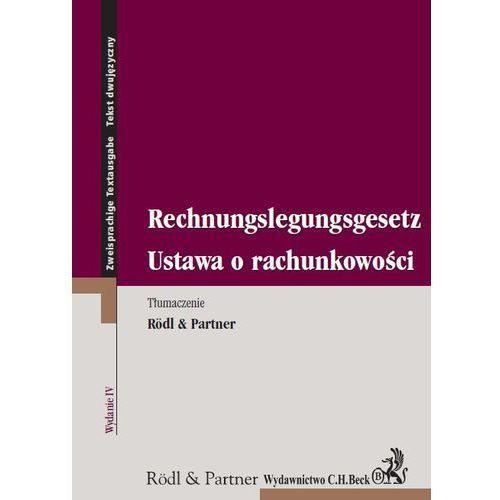 Ustawa o rachunkowości. Rechnungslegungsgesetz (kategoria: Literatura obcojęzyczna)