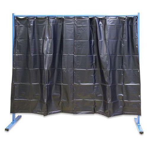 Unbekannt Spawalnicza ścianka ochronna, ruchoma,wersja 1-częściowa, wys. x szer. 1900 x 2100 mm