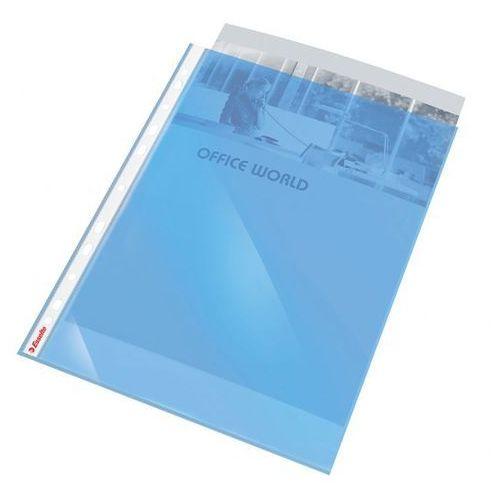 Koszulka krystaliczna Esselte 47205 A4/10szt. 55mic. niebieska