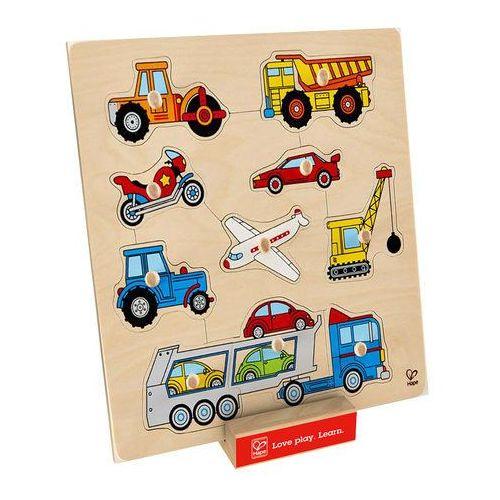 Hape  puzzle/układanka pojazdy