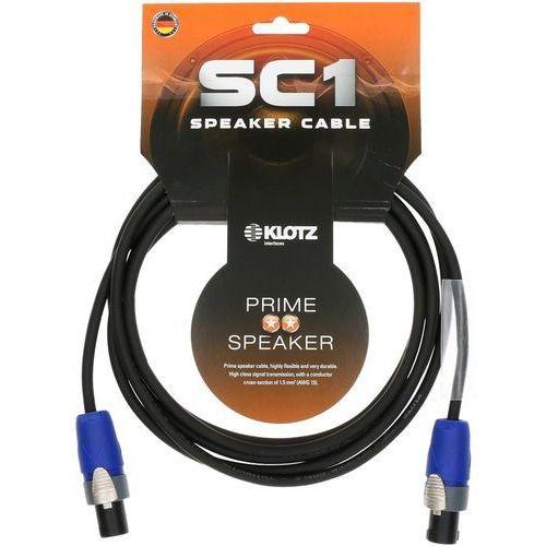 Klotz  sc1-02sw kabel głośnikowy 2 m