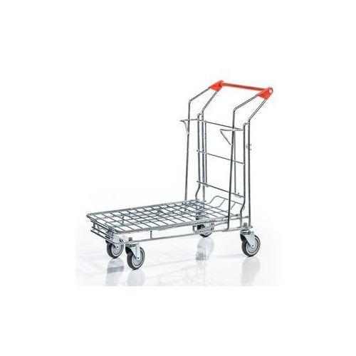 Uniwersalny wózek transportowy, bez górnego piętra, powierzchnia ładunkowa z kra