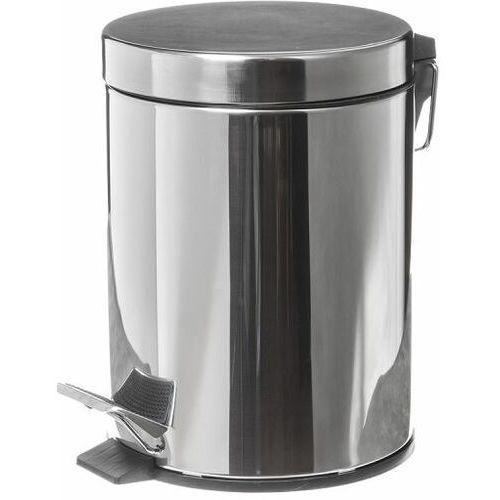Clean Kosz na śmieci łazienkowy 5 litrów stal nierdzewna połysk faneco wbp5js