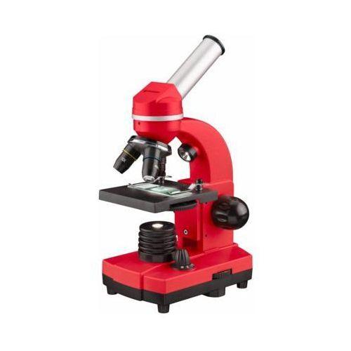 Mikroskop BRESSER Junior Biolux SEL 40-1600x Czerwony