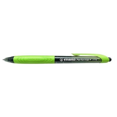 Stabilo Długopis performer+ czarny/zielony 328/3-46-1
