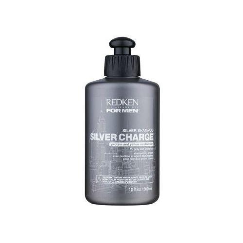 Redken  for men szampon wzmacniający do włosów siwych (silver charge) 300 ml (2800012959666)