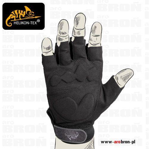 Rękawice helikon half finger gloves (rk-hfg-po-01) czarne marki Helikon tex