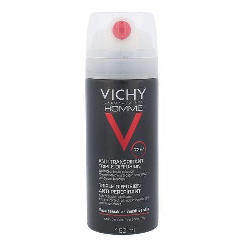 homme triple diffusion antyperspirant 150 ml dla mężczyzn marki Vichy