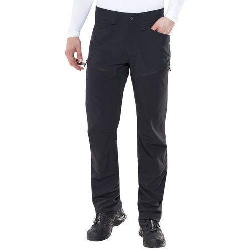 Haglöfs Mid II Flex Spodnie długie Mężczyźni czarny XXL-długie 2018 Spodnie Softshell