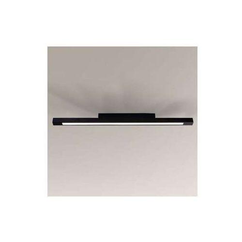 Sufitowa lampa plafon otaru 1200/led/cz prostokątna oprawa natynkowa led 33w listwa czarna marki Shilo