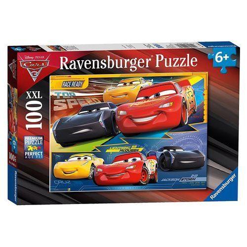 Puzzle 100 XXL Cars 3 Zawrotna prędkość - Ravensburger DARMOWA DOSTAWA KIOSK RUCHU (4005556109616)