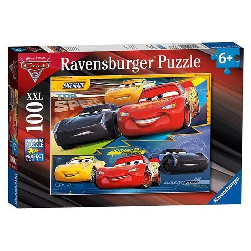 Puzzle 100 XXL Cars 3 Zawrotna prędkość - Ravensburger DARMOWA DOSTAWA KIOSK RUCHU