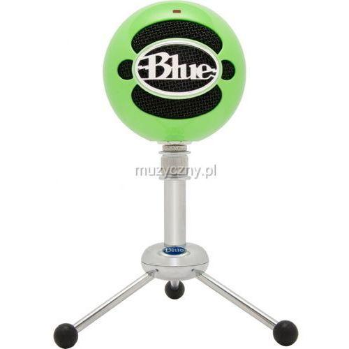 Blue Microphones Snowball NG mikrofon pojemnościowy USB (Neon Green) z kategorii Mikrofony