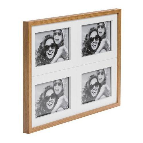 Galeria na zdjęcia Duo 4 x (10 x 15 cm) biała dąb (5908249227378)