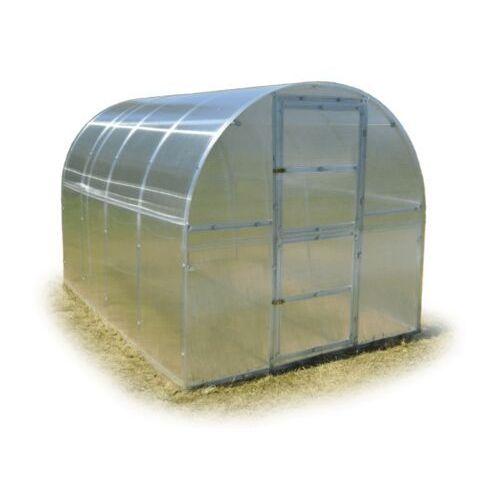 Tunel szklarnia Omega poliwęglanowa 4 mm stal ocynk. 2x4