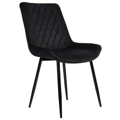 Emwomeble Nowoczesne krzesło tapicerowane ▪️ belini (dc-6020) ▪️ welur zielony (9999001206393)
