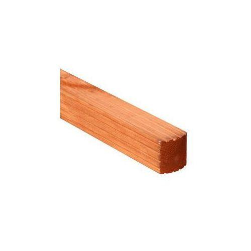Kantówka drewniana 7x7x180 cm brązowa VITRUM WERTH-HOLZ
