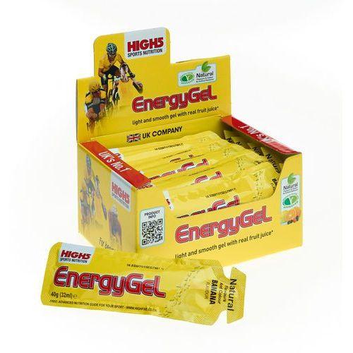 High5 EnergyGel Żywność dla sportowców Banana 20 x 40g 2018 Zestawy i multipaki (5027492999174)