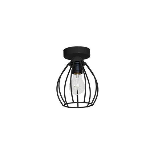Lampa sufitowa STAR 1xE27/60W/230V czarna, MLP 747