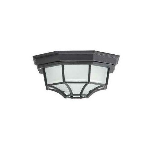 Rabalux Plafon zewnętrzny lampa sufitowa milano 1x100w e27 ip43 czarny 8346