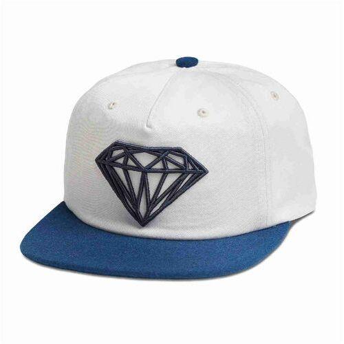 czapka z daszkiem DIAMOND - Brilliant 2-Tone Unstruc Snapb White (WHT) rozmiar: OS, kolor biały