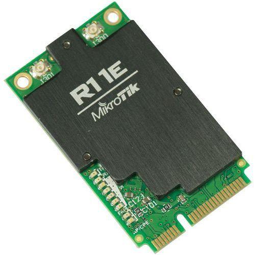MikroTik R11E-2HND karta miniPCIe 800mW ufl, MT R11E-2HND