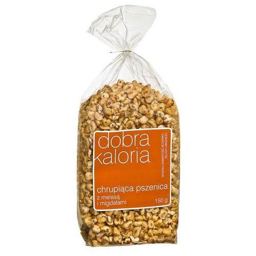 DOBRA KALORIA Chrupiąca pszenica z melasą i migdałami, towar z kategorii: Płatki, musli i otręby