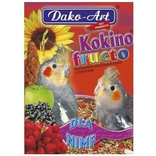Dako art kokino fructo 500g dla nimf marki Dako-art