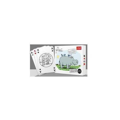 Trefl kraków Karty - mleczko 14923 2x55 listków trefl (5904262149321)