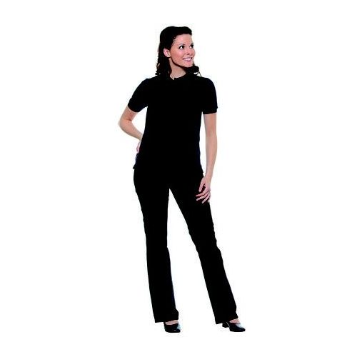 Koszulka damska typu polo, rozmiar xxl, granatowa | , basic marki Karlowsky