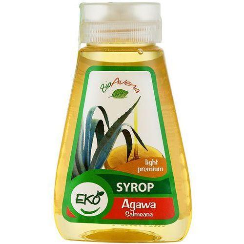 248g syrop z agawy salmeana premium light bio | darmowa dostawa od 200 zł, marki Bioavena