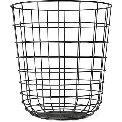 Kosz druciany Wire Bin, czarny - Menu, 9000539