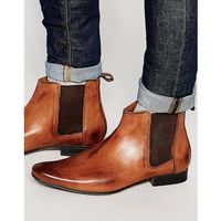 chelsea boots in tan leather - tan, Frank wright