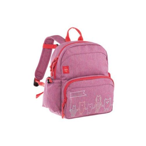 Lässig 4kids medium backpack about friends plecak melange pink