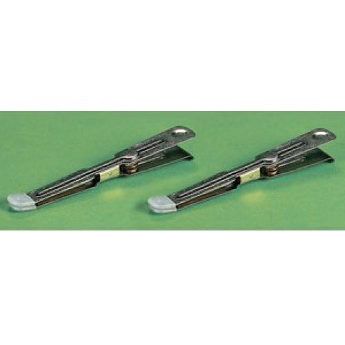 Kaiser  metalowe szczypce z gumowymi nasadkami 2szt
