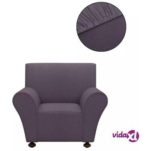 vidaXL Elastyczny pokrowiec na sofę, z dżerseju, szary (8718475962052)