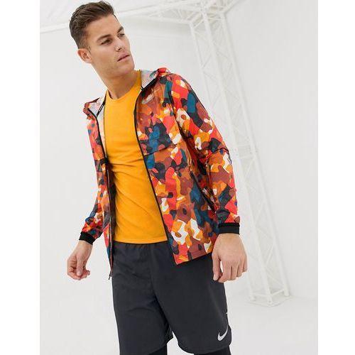 just do it reflective jacket in orange ah5987-634 - orange marki Nike running