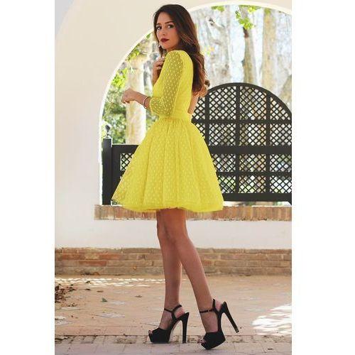 Sukienka PERSIA, kolor żółty
