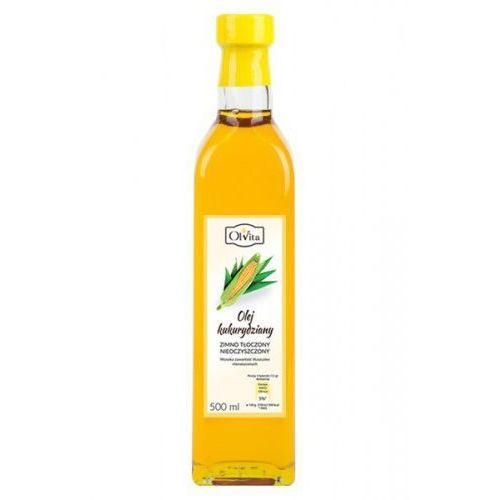 Olej kukurydziany 500ml tłoczony na zimno - marki Ol'vita